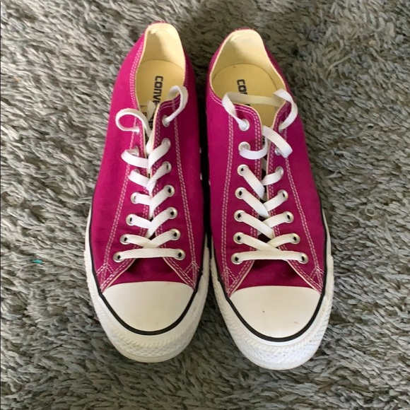 Bright purple converse size 12 mens